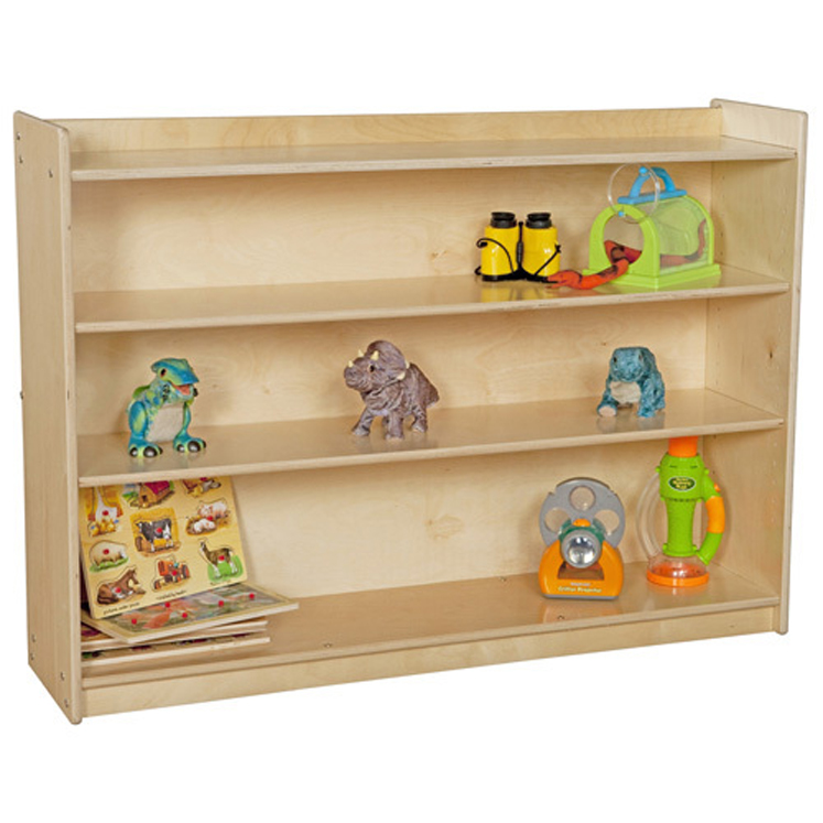 Mobile Adjustable Book Case with Lip (35.5