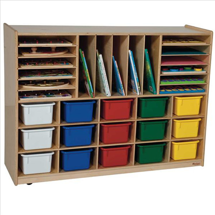 Multi-Storage with 15 Assorted Trays, 33-7/8