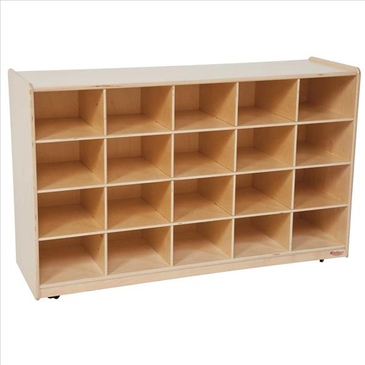 20 Tray Storage without Trays - Non Assembled | 27-1/4