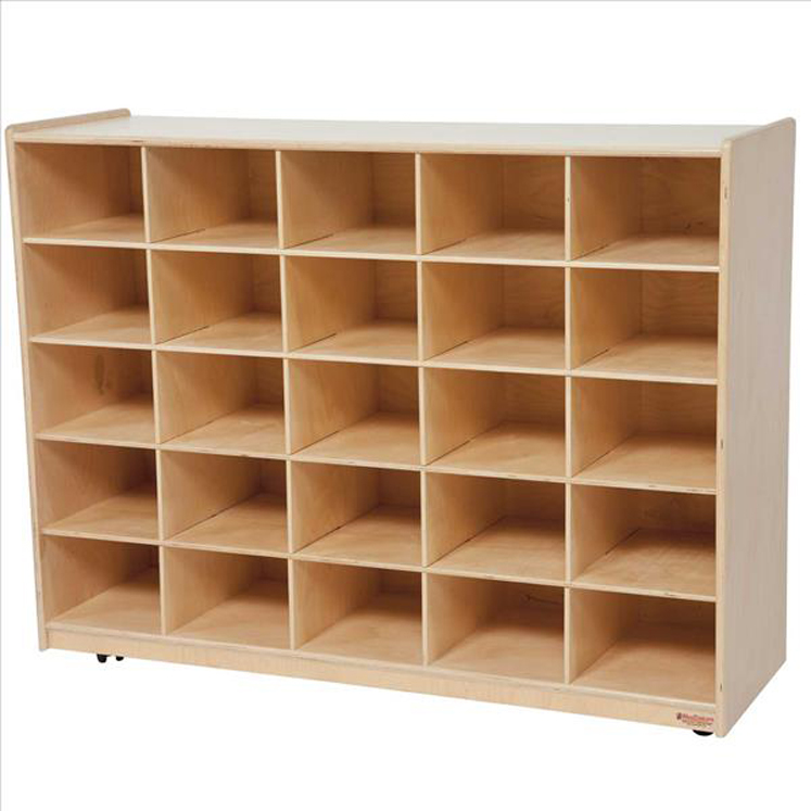 25 Tray Storage without Trays - Non Assembled