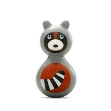 Wobbles Toy - Raccoon