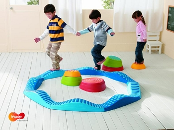 Weplay Wavy Tactile Path - Blue