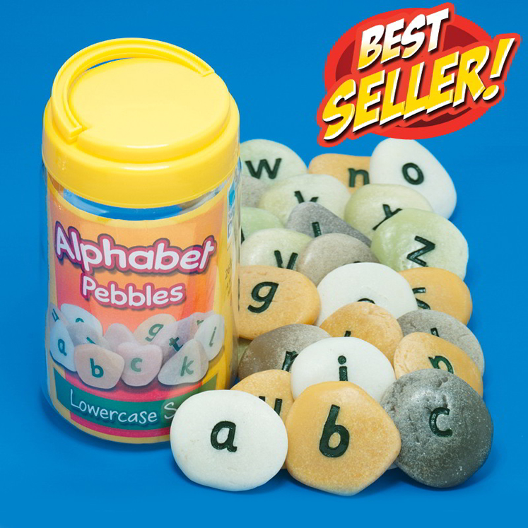 Alphabet Pebbles - Lower Case