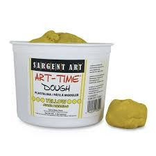 Art Time Dough, 3 lb - Yellow