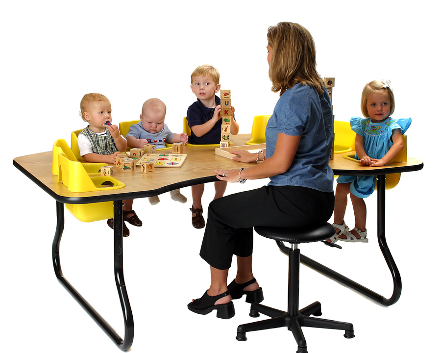 8 Seat Toddler Table 14  High  sc 1 st  Strictly For Kids & Up to 75% OFF! 8 Seat Toddler Table 14