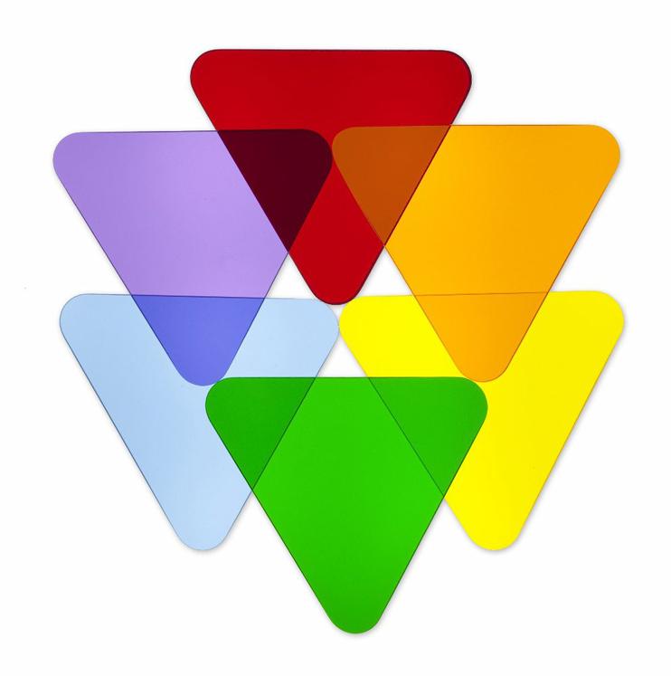 Up to 75% OFF! Color Wheel Acrlic Disks - strictlyforkidsstore.com