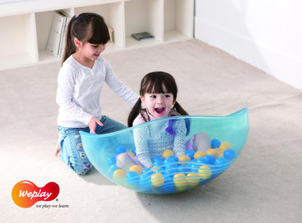 Weplay Rocking Bowl ( Clear) - Set of 3