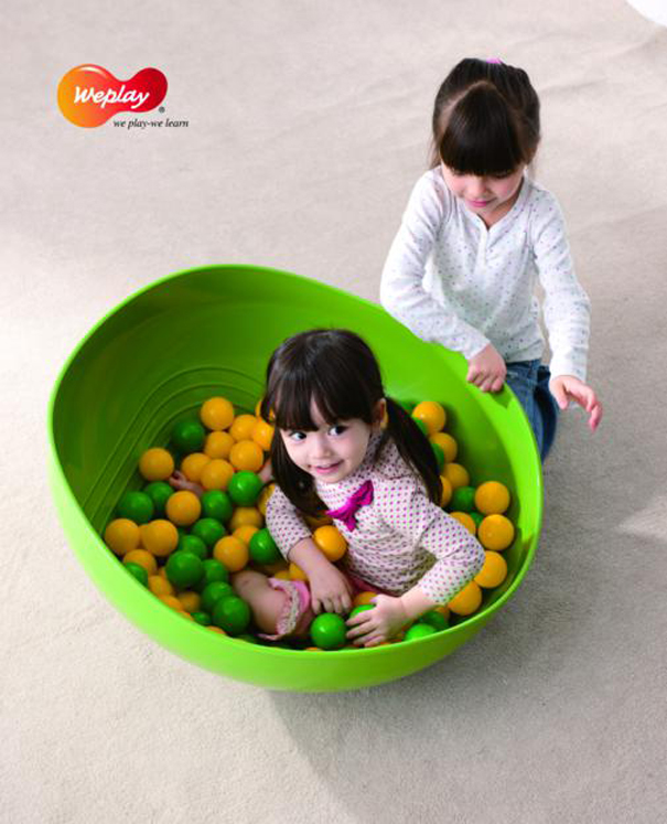 Weplay Rocking Bowl (Green) - Set of 3