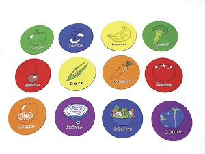 Fruit Spot Markers - Set of 12