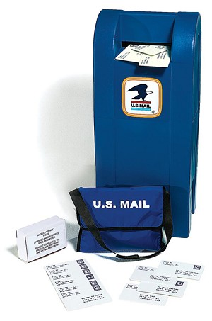 Mailbox and Optional Mail Bag