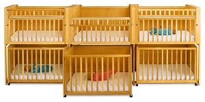 Bunkie C-6 Six Infant Stackable Crib