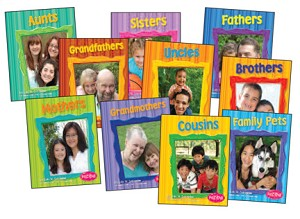 Families Books - Set of all 9