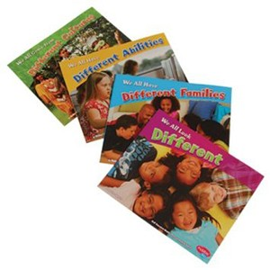 Celebrating Differences Book - Set of 4