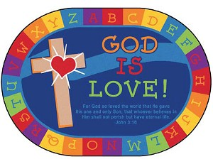 God is Love, Oval