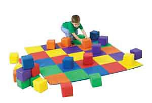 Matching Mat and Block Set