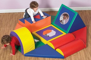 Shape and Play Obstacle Course