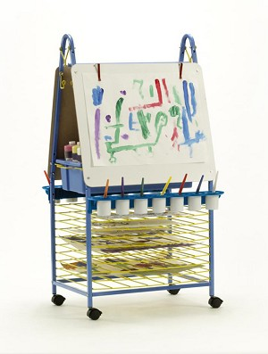 Improved Primary Double Sided Art Easel