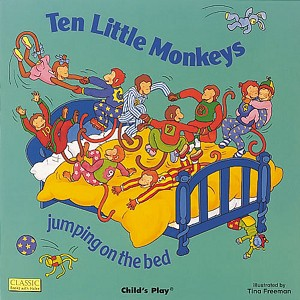 Classic Books-with-Holes Soft Cover, Ten Little Monekys