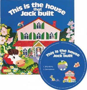 The House that Jack Built Classic Books with Holes & CD Soft Cover