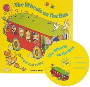 The Wheels on the Bus Classic Books with Holes & CD Soft Cover
