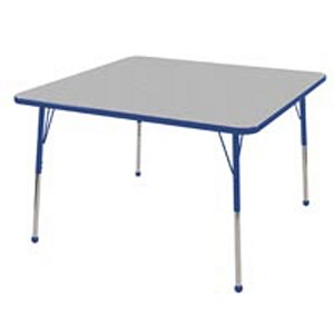 Adjustable Square Activity Table