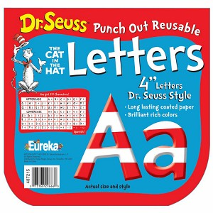 Dr. Seuss Stripes - Deco Letters