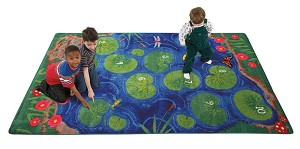 Hopscotch Pond 6' x 9' - Rectangle