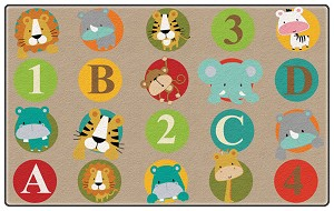 ABC and 123 Animals - Light
