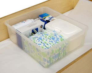 Storage Bins for Serenity Changing Table - 12 Pack