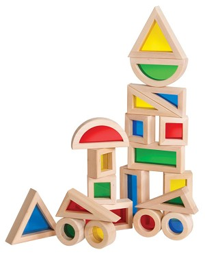 Jr. Rainbow Blocks - 20-Piece