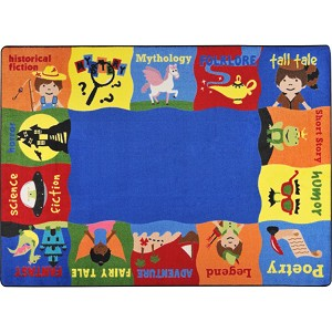 Read Me A Story Children's Rug - Multiple Sizes