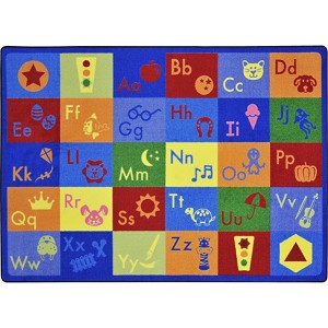 Simply Phonics Rug - Multiple Sizes