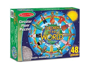 Children Around the World - Floor Puzzle