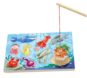 Magnetic Game Puzzles, Fishing