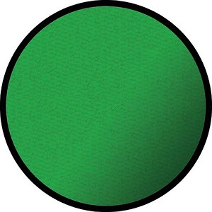 Solid Green - Round Small