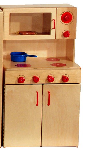 Mainstream Preschool Stove with Microwave