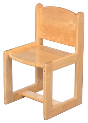 Deluxe Preschool Chair 12''h
