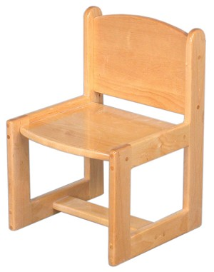 "Deluxe Toddler Chair Available in 10''h and 12""h"