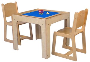 Deluxe Table Toy Playcenter for 4, Toddler through Youth Age,  30''w x 30''d (Mainstream Shown)