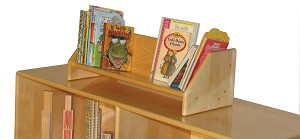 Deluxe Portable Book Display, 24''w x 10''d x 8''h