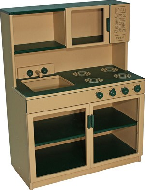 DuraBuilt Outdoor/Indoor Combo Kitchen Set - Preschool & School Age Versions Available