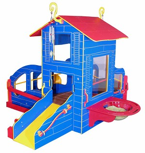 Infant-Toddler Cottage Playstation 4 Outdoor Playground - Bright