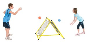"Double-Sided ReeBound Net, 28"" x 28"" Net, Yellow Frame"