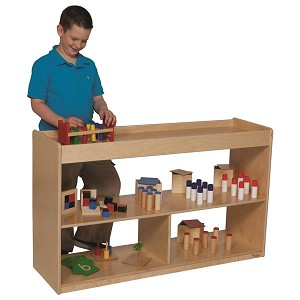 "Math-Language Cabinet - 30""h 