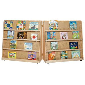 "Folding Double Sided Book Display 48""h"