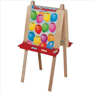 "Double Adjustable Easel | 48""h x 20""w x 24""d"