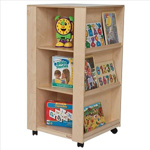 "Library and Display Center | 44""h x 24""w x 24""d"