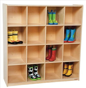 16 Big Cubby Storage