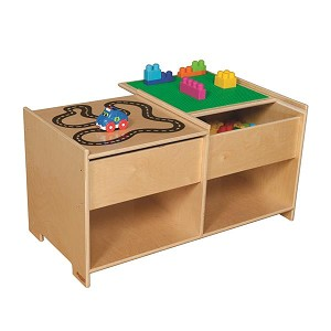 "Build-N-Play Table with Racetrack | 19""h x 36-1/2""w x 18""d"