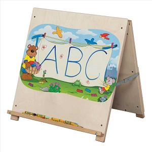 "Big Book Tabletop Easel | 24""h x 24""w x 16""d"